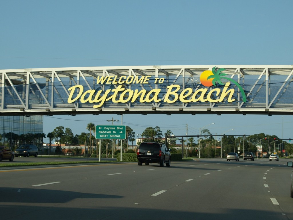 Welcome to Daytona Beach, Florida!