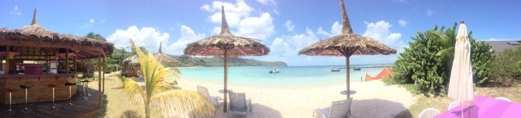 Beach bar at Sparrow's Beach Club, Union Island, St. Vincent and the Grenadines.