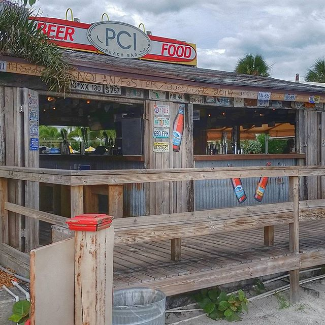 Beach Bar at the Postcard Inn on the Beach, St. Pete Beach, Florida