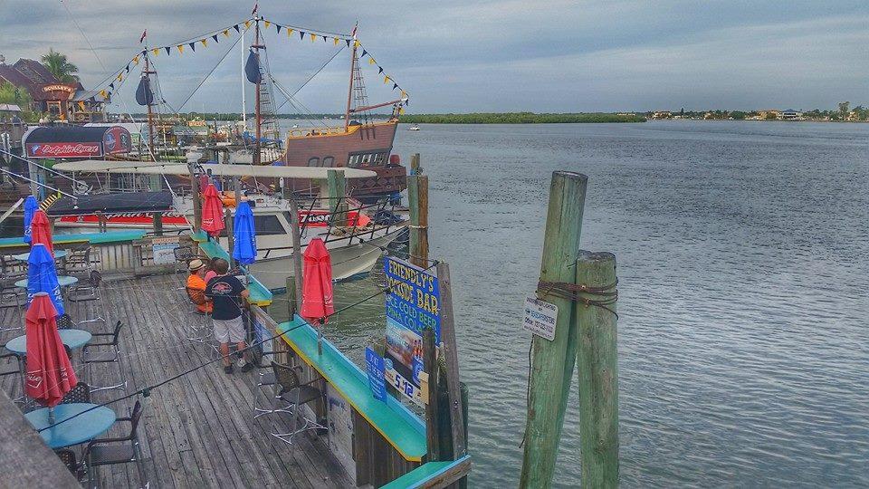 Friendly's Dockside Bar, Friendly Fisherman, John's Pass Village and Boardwalk, Florida