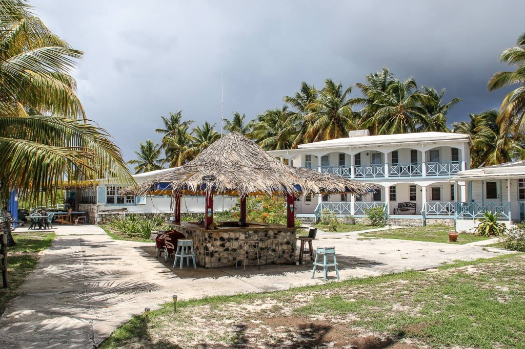 Beach bar at Neptune's Treasure, Anegada, British Virgin Islands