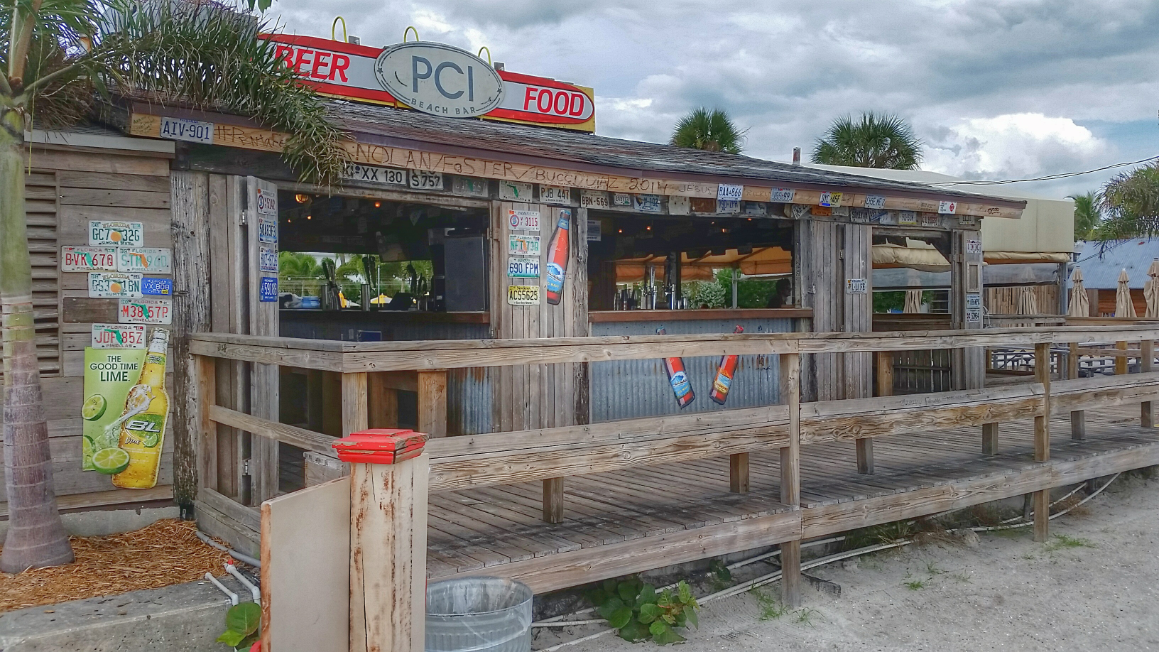 Beach Bar At The Postcard Inn On St Pete Florida