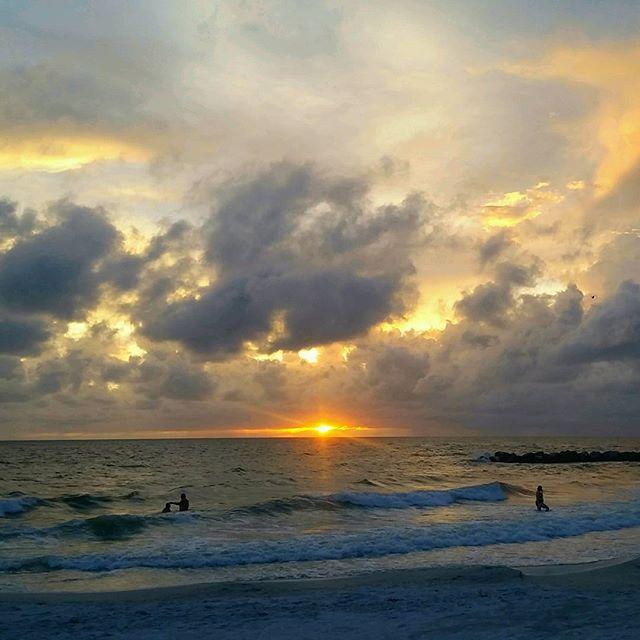 Upham Beach sunset, St. Pete Beach, Florida