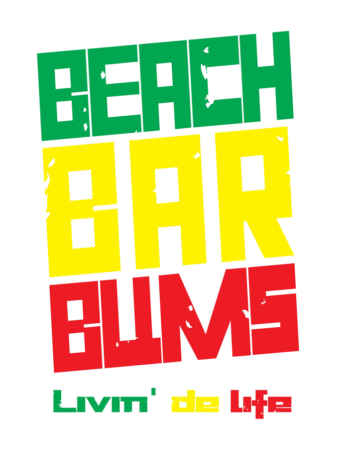 Latest design for Beach Bar Bums shirts