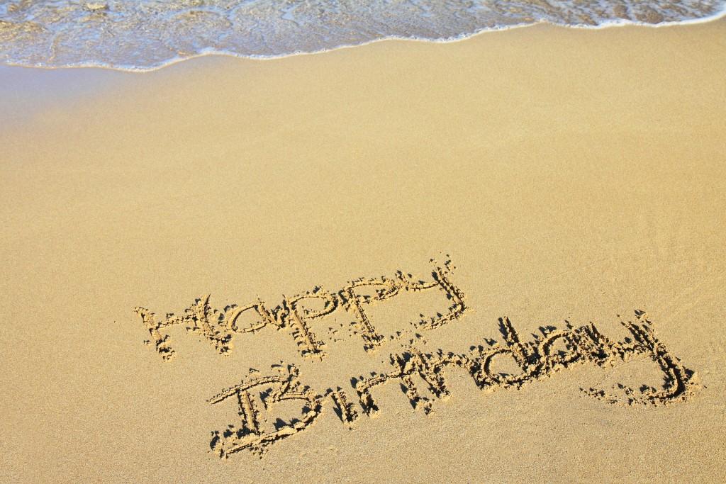 Happy beach birthday, Harper!