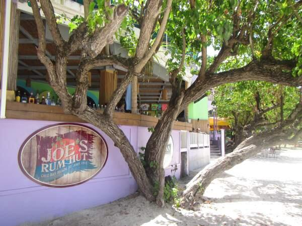 Joe's Rum Hut, Cruz Bay, St. John, USVI.  Image by twitter user @island_canes