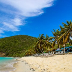 Two Minutes of White Bay Jost Van Dyke Bliss