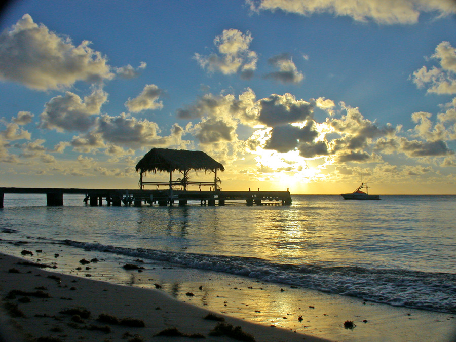 Pier at Pigeon Point, Tobago. Image courtesy of Trinidad & Tobago Tourism Development Company Ltd
