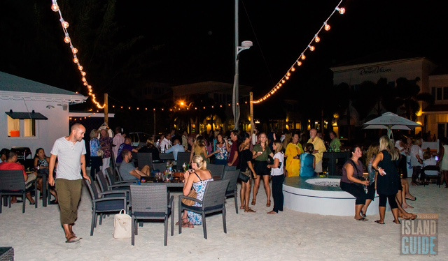 Beach sand galore at this Provo bar in Turks and Caicos