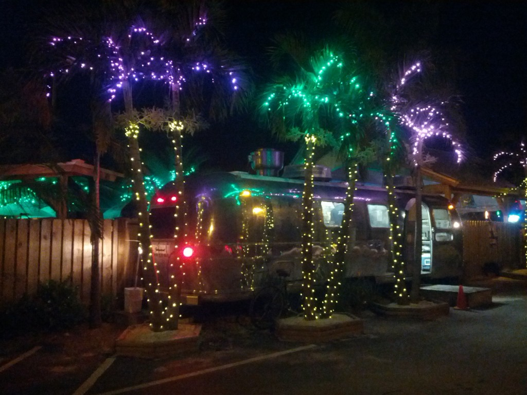 The Backyard's food truck trailer, Boynton Beach, Florida