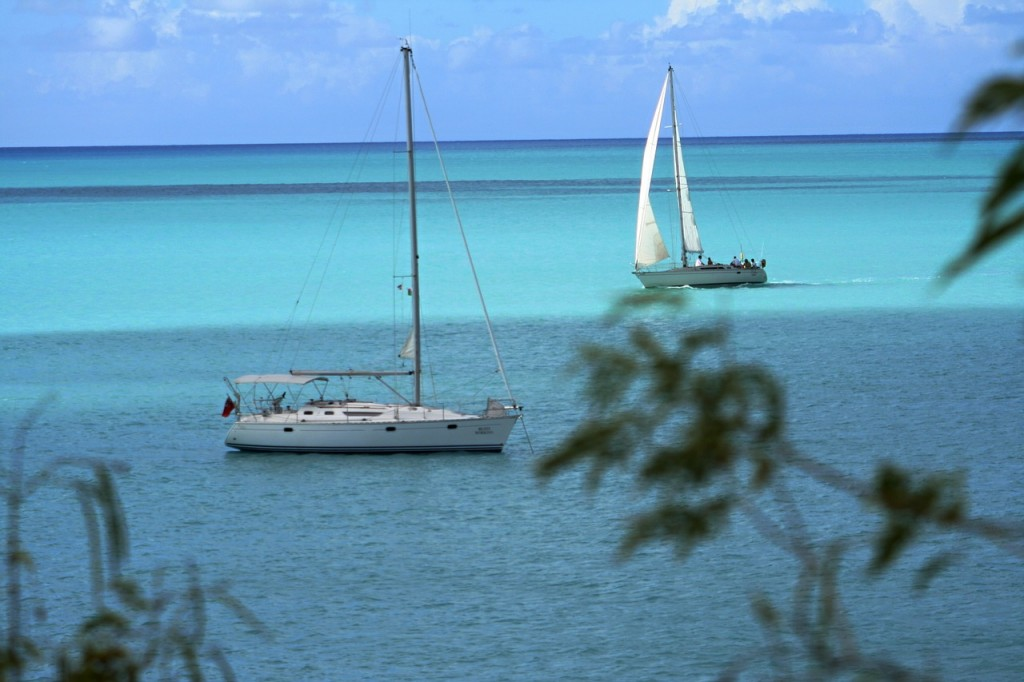 antigua, ocean, boats, sailboats, yachts