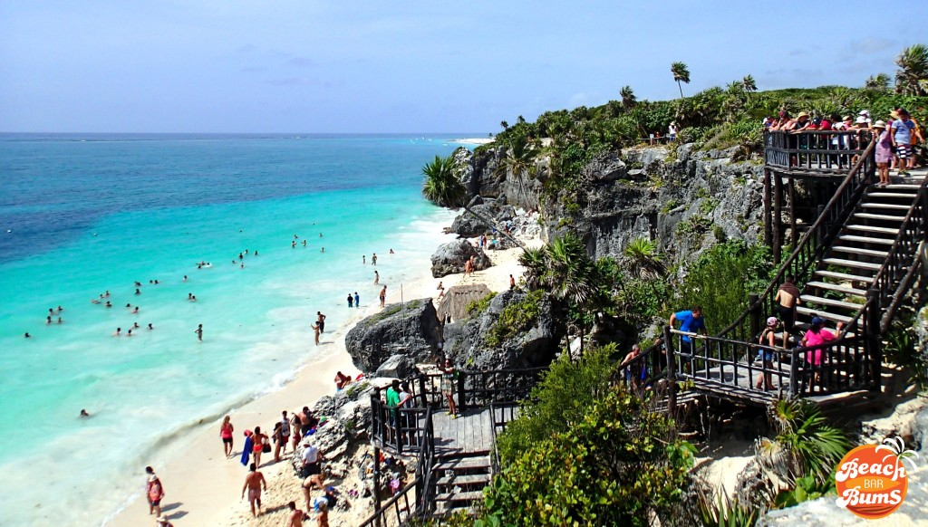 Beach at Tulum, Mexico