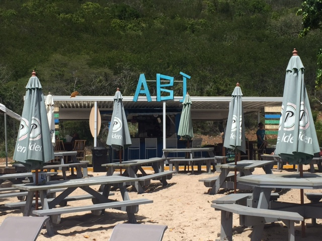 View of Abi Beach Bar, St. Thomas, US Virgin Islands
