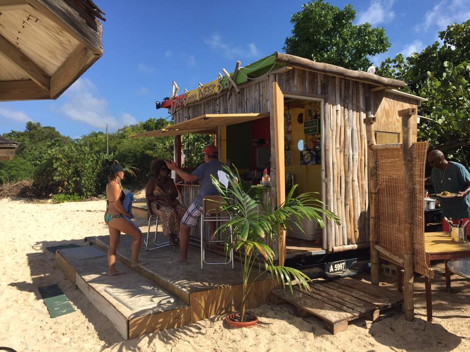 Anguilla's Bamboo Beer Box is as authentic of a Caribbean beach bar as they come