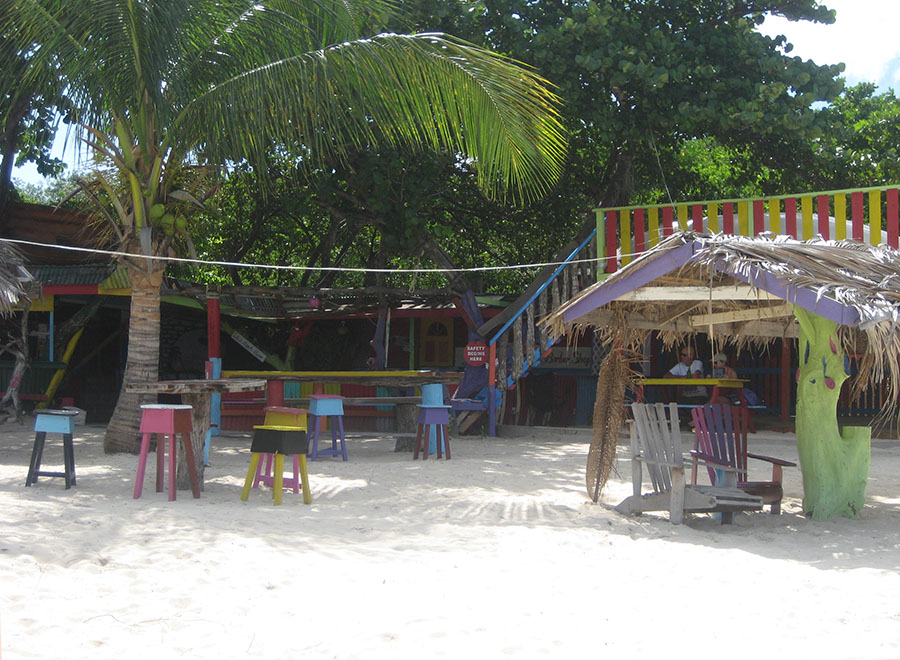 Off D Hook Beach Bar, Paradise Beach, Carriacou
