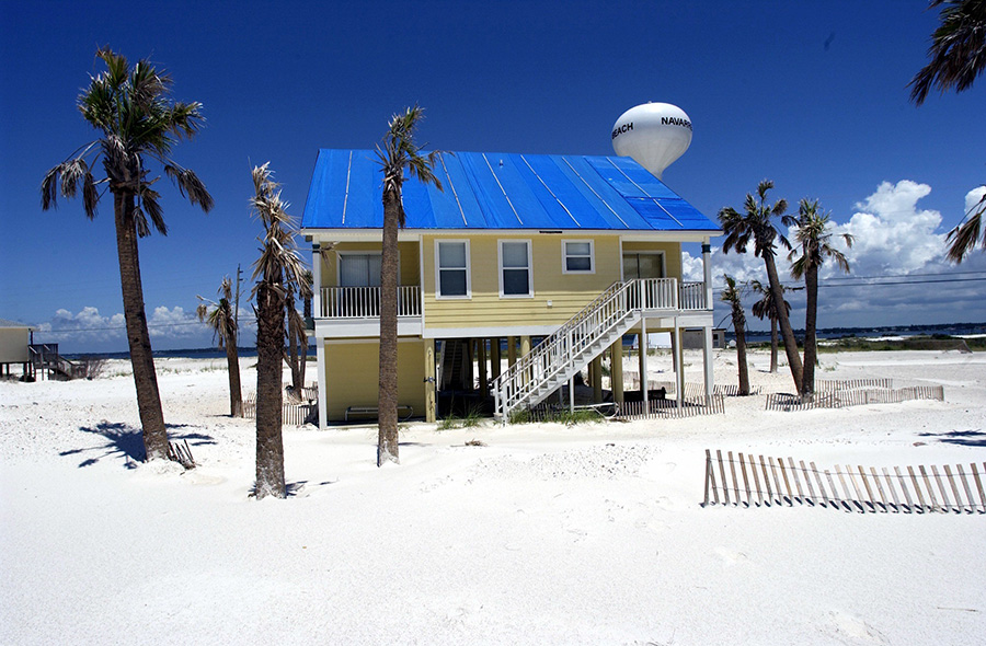 House on Navarre Beach, Pensacola Beach, Florida