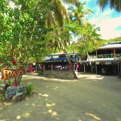 Charming Foxy And His Jost Van Dyke Beach Bar