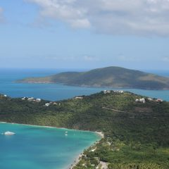 Taking to the Skies Above Magens Bay, St. Thomas, US Virgin Islands