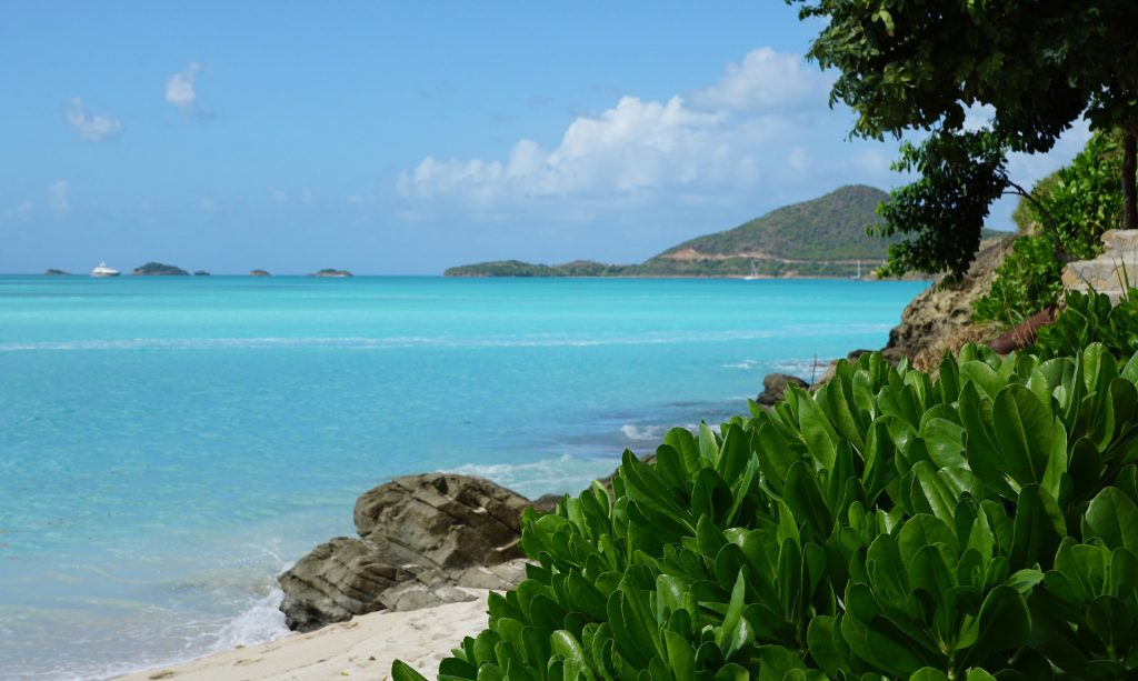 Getting to know the beaches of Antigua.