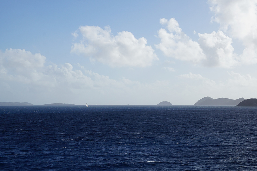 Finding serenity on the seas of the British Virgin Islands.