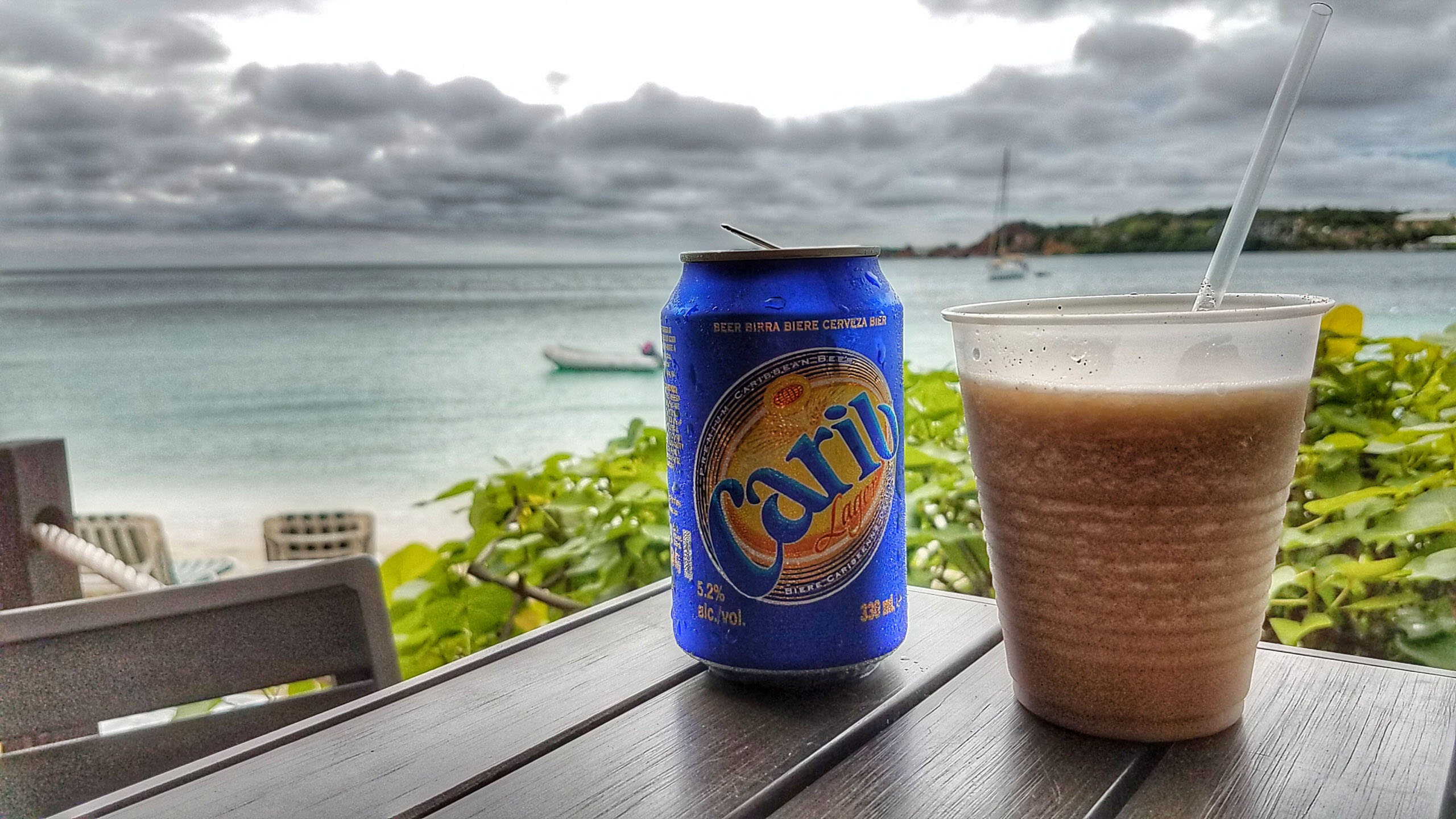bushwhacker, cocktail, beer, st. thomas, usvi