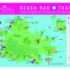 Visit Antigua and Barbuda Beach Bars and Win Free Stuff