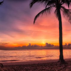 Beach Thursday Pic of the Week – Sunrise on Bavaro Beach, Dominican Republic