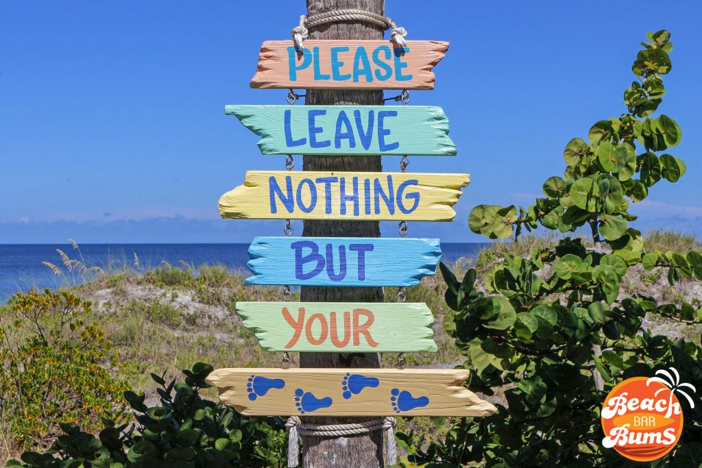 beach wallpaper, sign