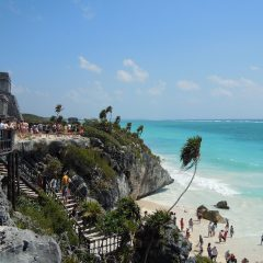 Beach Thursday Pic of the Week – Ruins at Tulum National Park, Mexico