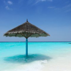 Beach Thursday Pic of the Week – Finding Shade in the Maldives