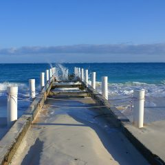 Beach Thursday Pic of the Week – Pier Space in Turks and Caicos