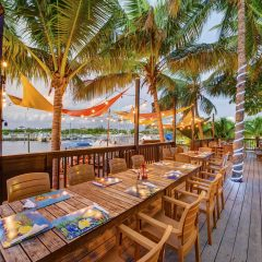 Waterfront Restaurant in Turks and Caicos
