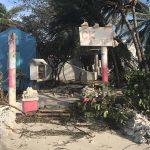 beach bar, providenciales, turks and caicos, caribbean