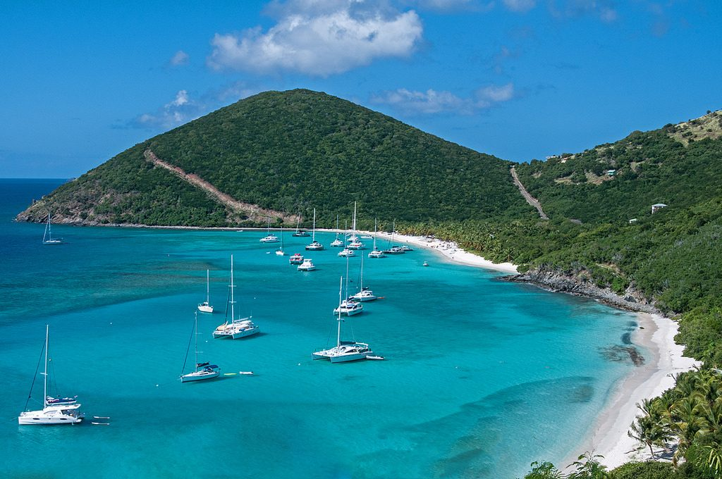 View of White Bay, Jost Van Dyke.