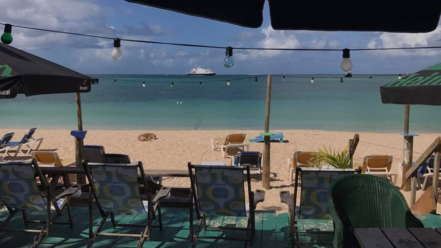 anguilla, beach bar, caribbean