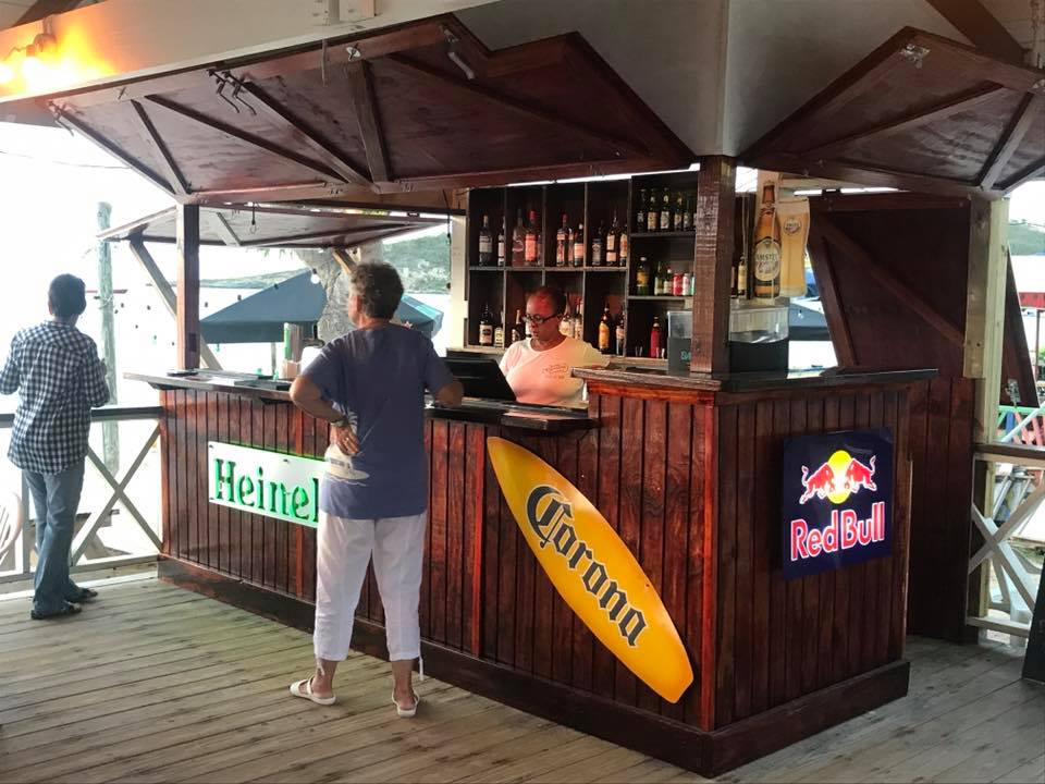 beach bar, caribbean, anguilla