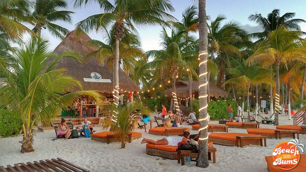beach bar, caribbean, cancun