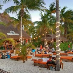 Beach Bar Spotlight – Green Demon Beach Club, Isla Mujeres, Mexico