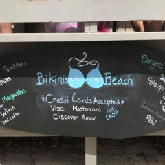 First Look – Bikinis on the Beach Bar & Grill, St. John, US Virgin Islands