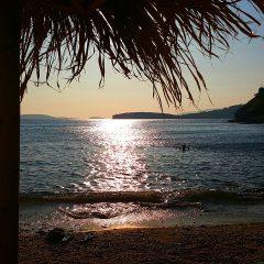 Two and a Half Minutes at Kolona (Colona) Beach Bar in Batsi, Andros Island, Greece