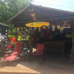We Built Our Own Beach Bar – Shannon and Roxanna Sharp's Da Luv Shack
