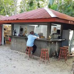 St. John's Trunk Bay Beach Bar Reopens