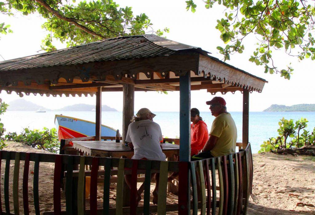 beach, caribbean, beach bar