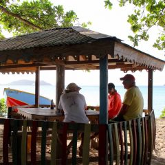 Friday Flickr Find – Hard Wood Bar and Snacket, Carriacou, Grenada