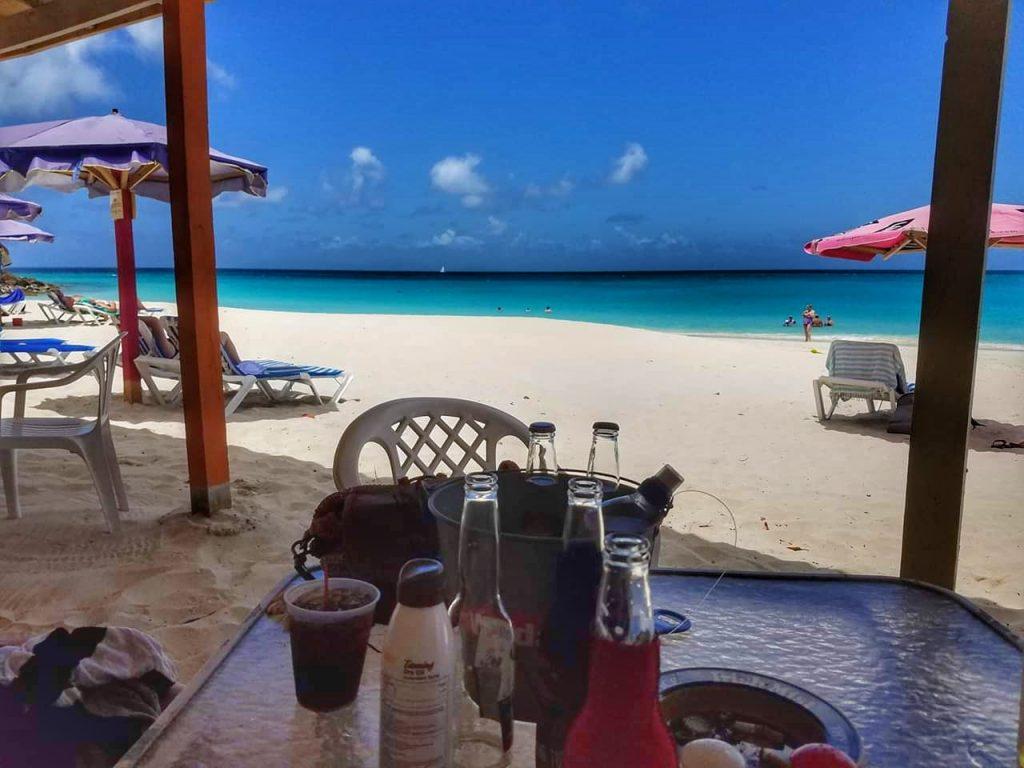 caribbean, antigua, beach bar