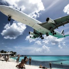 Beach Pic of the Week – The Underbelly of Maho Beach, St. Maarten