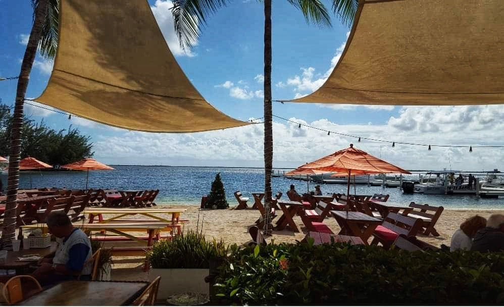 View from Kaibo Beach Bar, Grand Cayman, Cayman Islands, caribbean