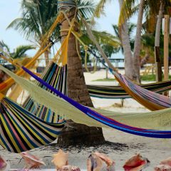 Beach Thursday Pic of the Week – Hammock Life in Caye Caulker, Belize