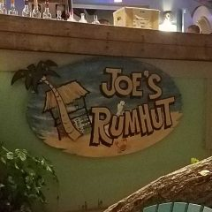 Joe's Rum Hut Announces Reopening