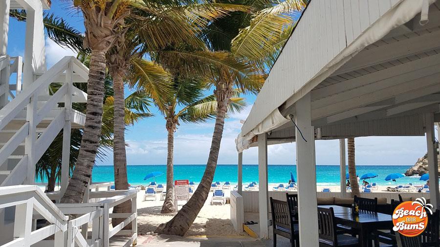 st. maarten martin beach bar caribbean